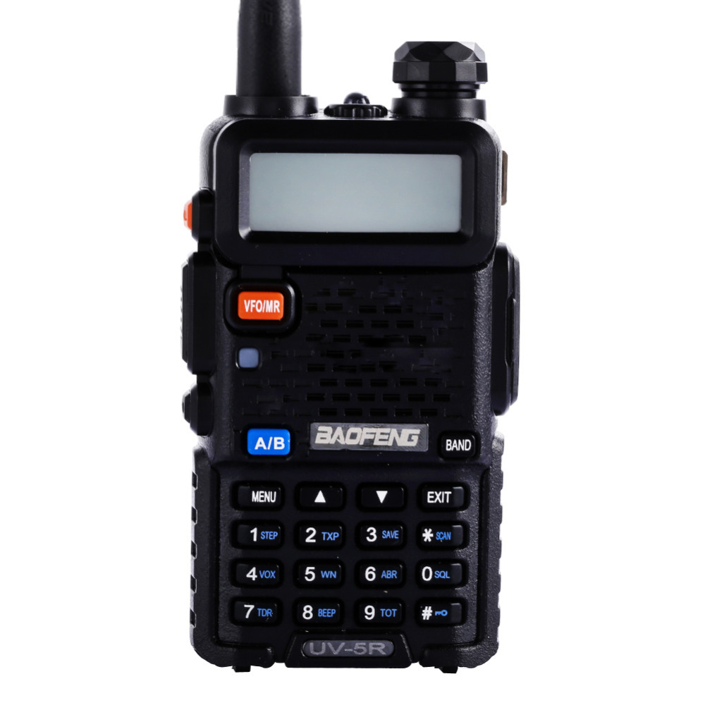 Hot Baofeng UV5R Walkie Talkie Dual Band Portable 5W Two Way Radio UHF VHF 136 174MHz