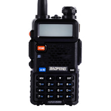 Hot Baofeng UV5R Walkie Talkie Dual Band Portable 5W Two Way Radio UHF&VHF 136-174MHz&400-520MHz with LCD Display US Plug