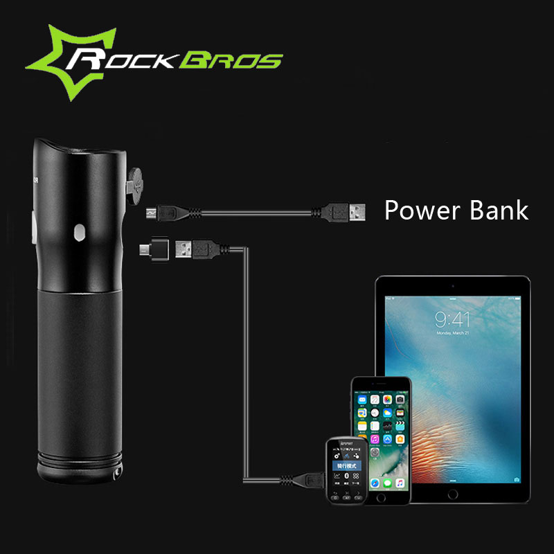 ROCKBROS MTB lagano USB punjivo svjetlo za bicikl, vodootporan - Biciklizam - Foto 4