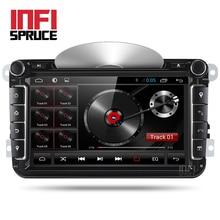 Android 7,1 автомобиль DVD для Фольксваген SKODA Гольф 5 GOLF 6 поло PASSAT B7 T5 CC JETTA TIGUAN автомобиля радио gps стерео с CD play