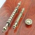 60mm 96mm retro style furniture handles antique brass kitchen cabinet dresser door handles bronze drawer shoe cabine knob