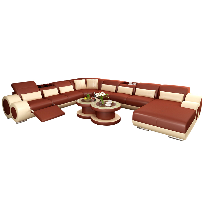 On sale competitive price cheap leather living room sofa - Living room sets for cheap prices ...