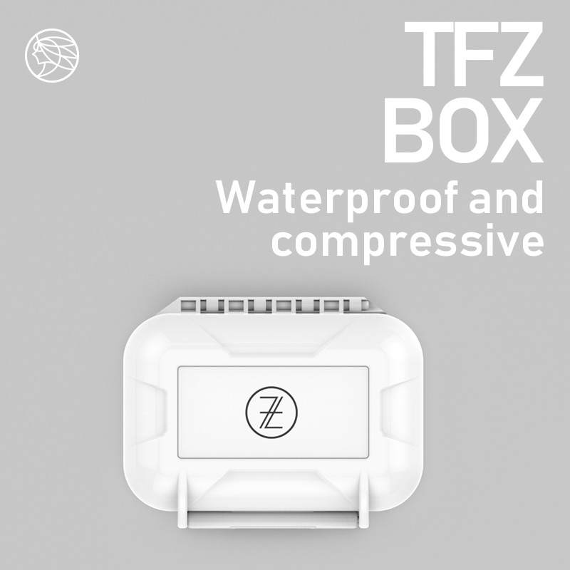 The fragrant Zither/ Official Earphones Waterproof Boxes, Protect your beloved headphones,Headset accessories storage box soccer-specific stadium