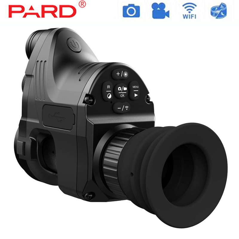 PARD NV007 Hunting Digital Night Vision Riflescope Optics With Wifi APP 200M Range NV Scope 850nm IR Night Vision Sight Scope wgx2 hd night vision rilfescope 1280x720 display night vision hunting scope digital ir night vision scope optical 200m range