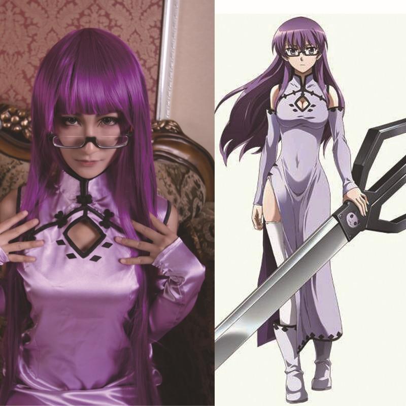 Women 3 Piece Outfits Akame Ga KILL! Sheele Cosplay Costume Anime Clothes Woman Fancy Dress Adult Cheongsam Custom Made