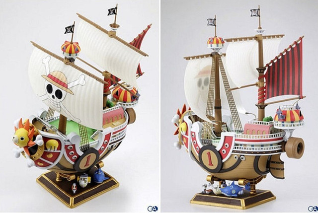 Thousand Sunny Pirate Ship Figurine