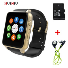 GT88 2502c Reloj Inteligente a prueba de agua Cámara SIM Bluetooth V4.0 NFC Pulsómetro apoyo iphone android mx a9 DM360 smartwatch