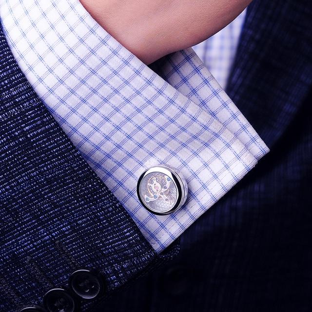 kflk ювелирные изделия запонки для рубашек мужские брендовые фотография