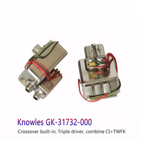 Image 2 - Knowles GK 31732 BA Driver IEM Balanced Armature Triple Driver Receiver Speaker for Custom Fit Earphone Low Frequency