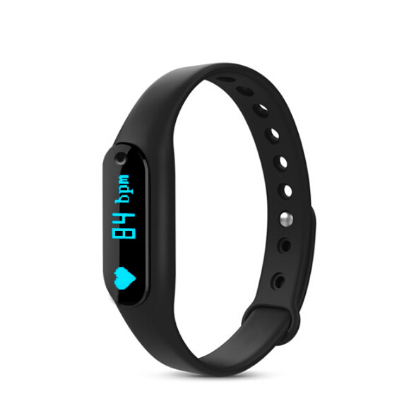 Smart Bracelet C6 waterproof anti lost Wearable Sport Fitness Smartband Heart Rate MonitorFor IOS Android Iphone
