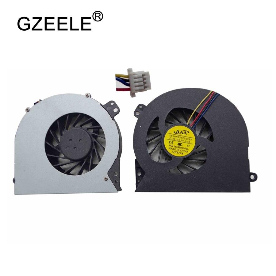 купить GZEELE new Laptop cpu cooling fan for HP 4540S 4740s 4745s 4440S 4441S 4445S 4446S Notebook Cooler Radiator Cooling Fan 4 Lines по цене 265 рублей