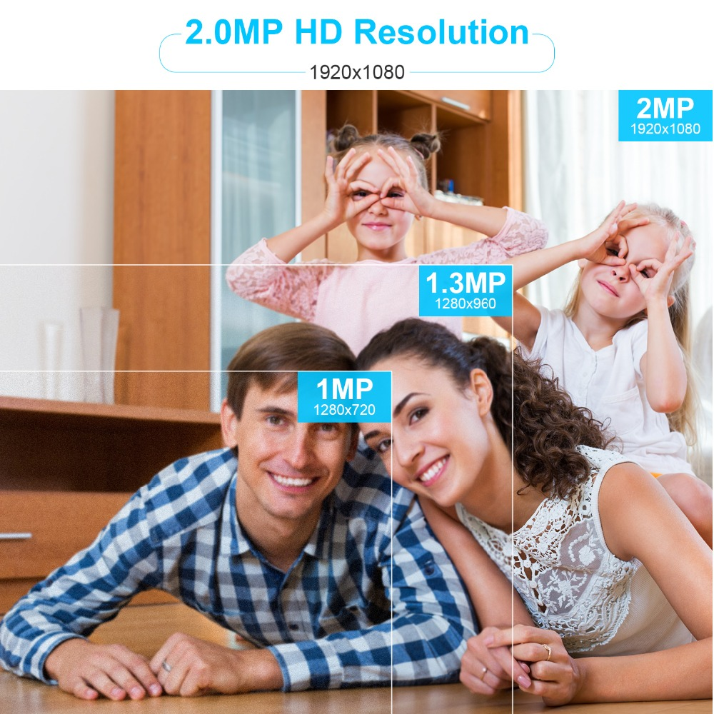 Image 2 - DEFEWAY 2.0MP Video Surveillance System 8CH NVR Security Camera System Outdoor Video Surveillance With 1TB HDD 4PCS IP Camera-in Surveillance System from Security & Protection