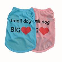 Dog Printed Cotton T Shirt Wholesale