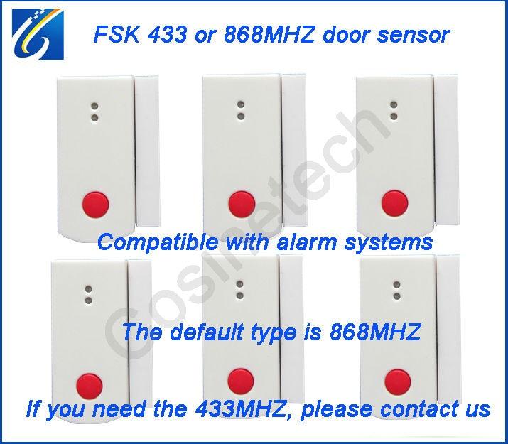 ФОТО 868MHZ door window detector contact for our security alarm system,door magnetic sensor window detector for home GSM alarm system
