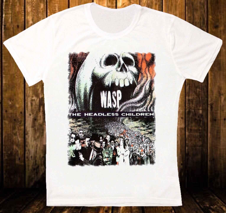 W. A. S. P. Безголовый детей 89 тяжелый металл qurepe группа ратт unisexe футболка