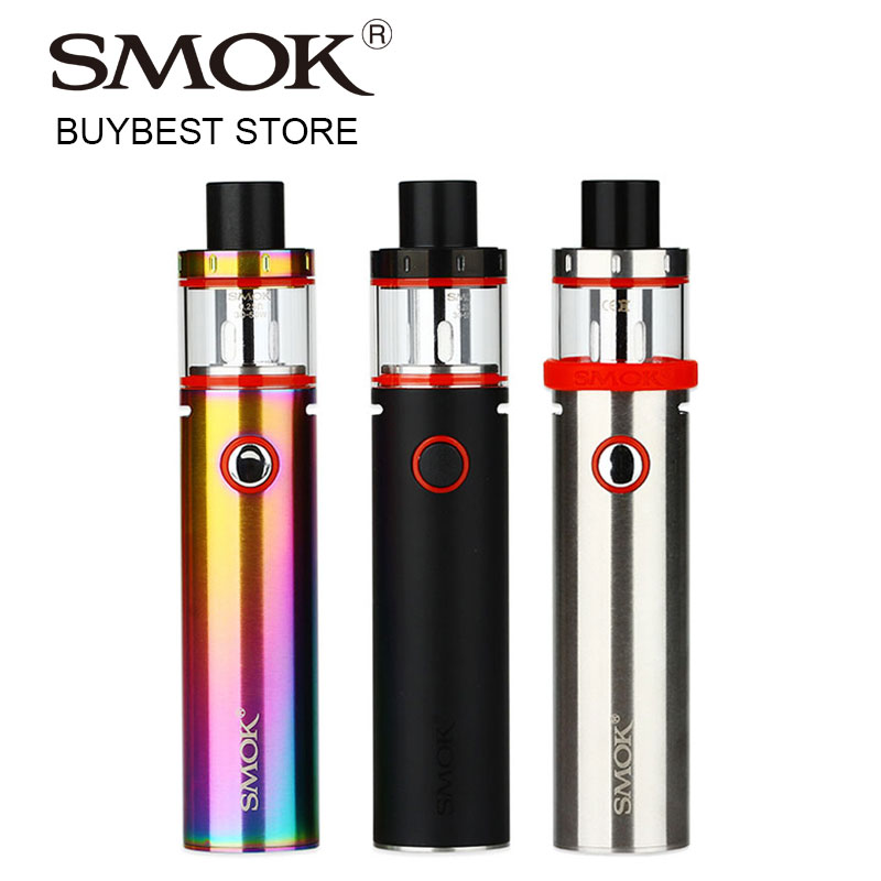 Original SMOK Vape Pen Plus Starter Kit with 3000mAh Built-in Battery & 4ml Tank Atomizer with 0.25ohm Dual Core 24.5mm Vape Kit