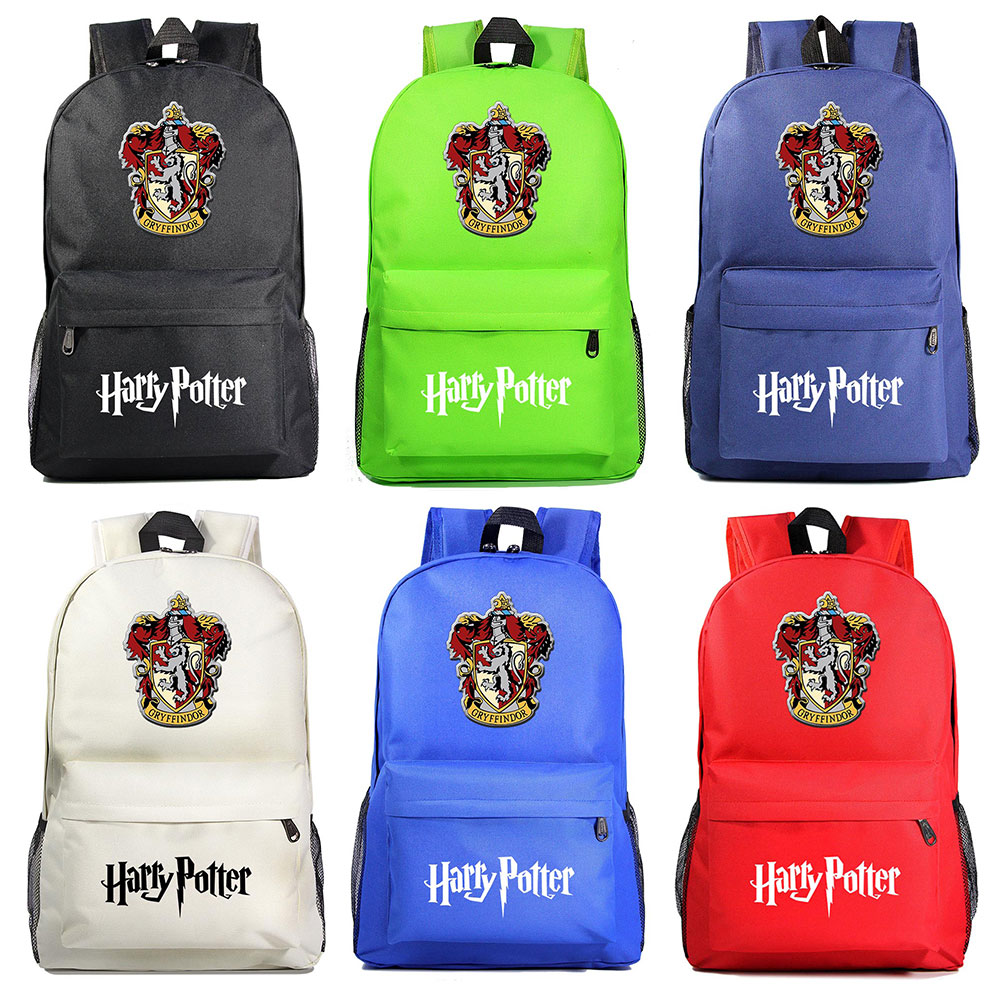 Magic Magic Shool Lion Hogwarts Gryffindor Boy Girl Book School Bag Women Bagpack Teenagers Schoolbags Men Student Backpacks