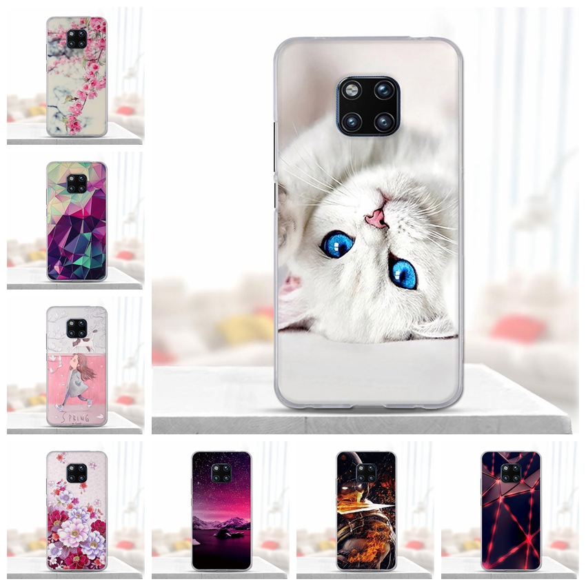 For Funda Huawei Mate 20 Pro Case Soft Silicone 3d Cute Back Cover for Huawei Mate 20 Pro Case for Huawei Mate 20 Pro Case Cover