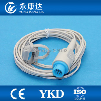 2cd42ae4356 3 unids/pack YKD PM9800 8pin reutilizable directo 3 M silicona neonato Spo2  sensor sondas para fabricante, envío libre