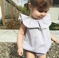 Para 1-4 años kikikids 2016 del verano del bebé ropa de una pieza de los monos vestidos de niños ropa de moda al por mayor caliente venta