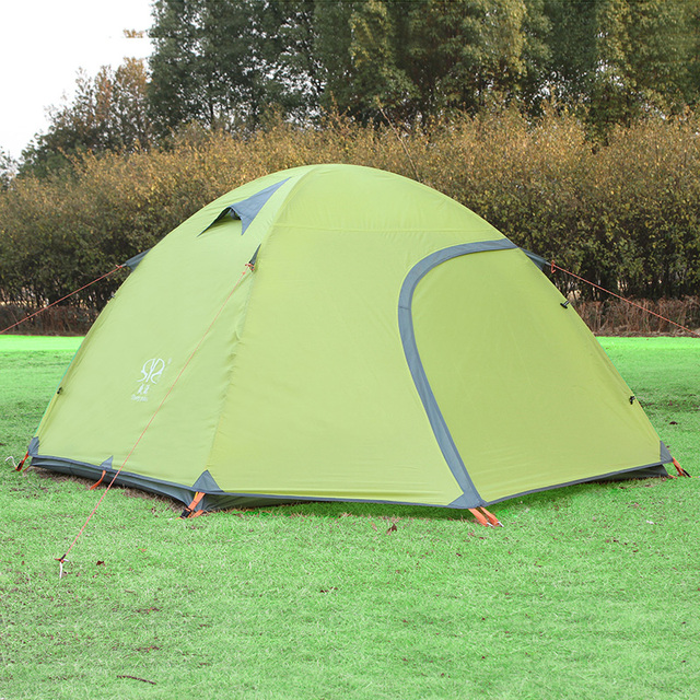 3-4 person c&ing tent outdoor rainproof tents Large double layer 2000-3000mm waterproof & 3 4 person camping tent outdoor rainproof tents Large double layer ...
