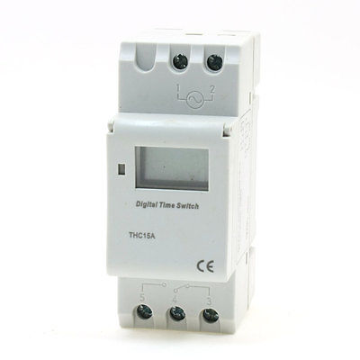 DC24V DIN Rail Mounted Week Time Reset Digital Programmable Timer Switch week time reset 6 function key time switch ac 220v 16a