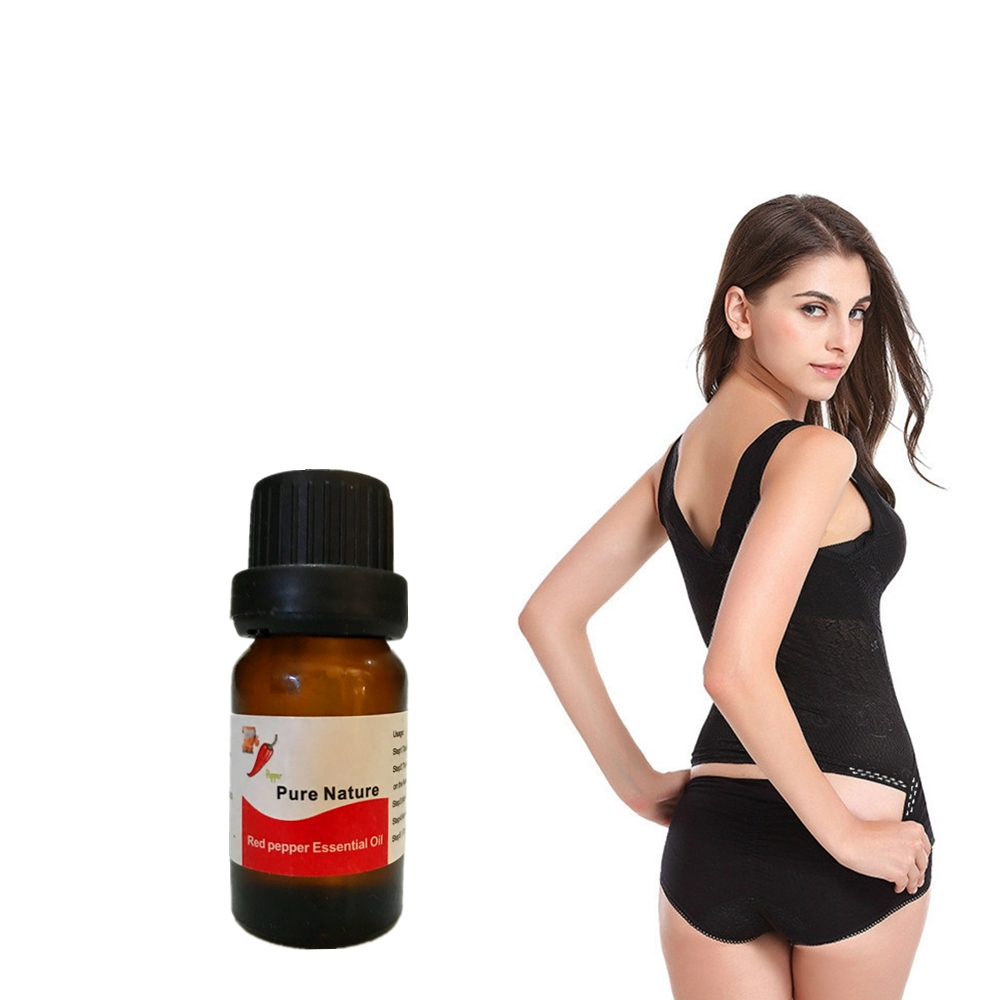 10ml Body Detox Slimming Product Hot pepper Massage Essential Oil Health Care We
