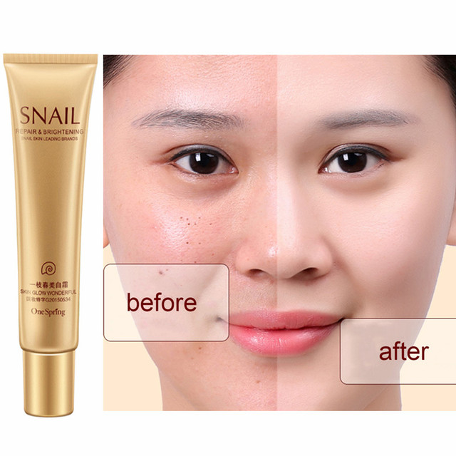 20g Natural Snail Cream Facial Moisturizer Face Cream Whitening Ageless Anti Wrinkles Lifting Facial Firming Skin Care TSLM2