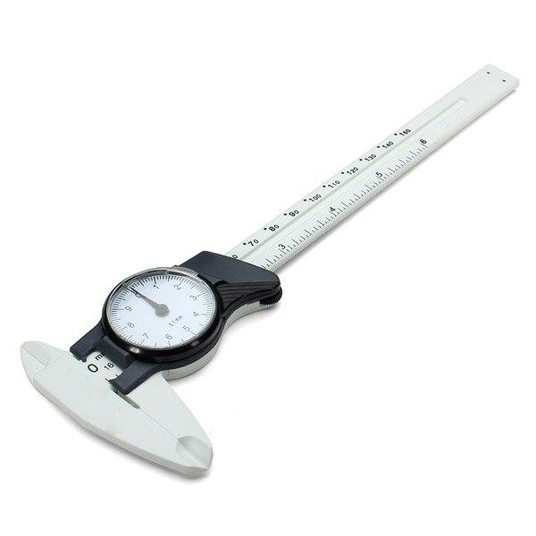 JIGUOOR 0-150 мм/0,02 мм ударопрочного точность штангенциркуль измерительный инструмент с циферблатом миллиметра толщина метр