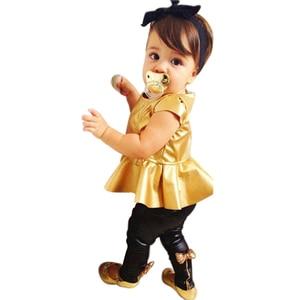 Одежда для девочек, милое платье-пачка для маленьких девочек, топ + леггинсы с бантом, штаны, комплекты детской одежды, летняя модная детская ...