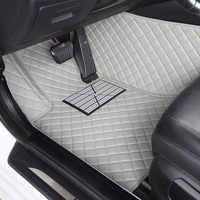 Tapetes do carro personalizado para Jeep Grand Cherokee Wrangler Patriot Compass Cherokee commander car acessórios car styling