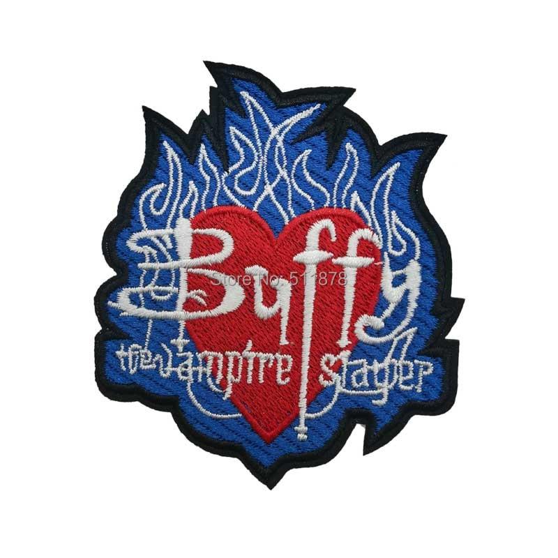 3 5 Buffy the Vampire Slayer Logo anime Movie TV Series Costume Embroidered Emblem sew on