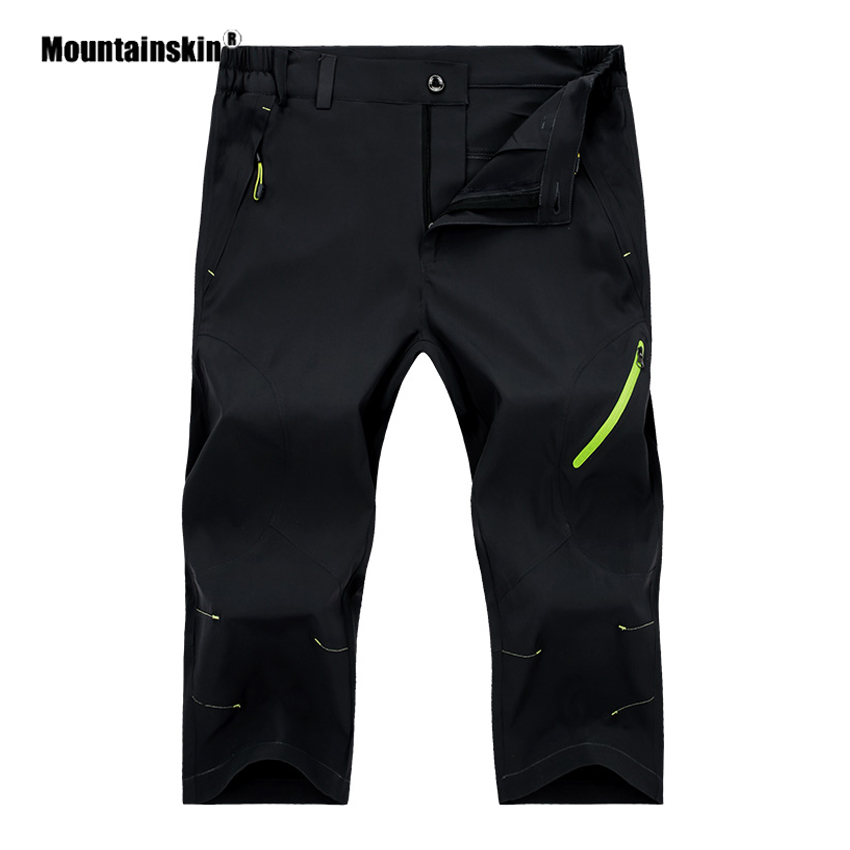 Mountainskin Men Women Summer Dry Quick Hiking Shorts Outdoor Breathable Trekking Running Climbing Camping Short Trousers VA478