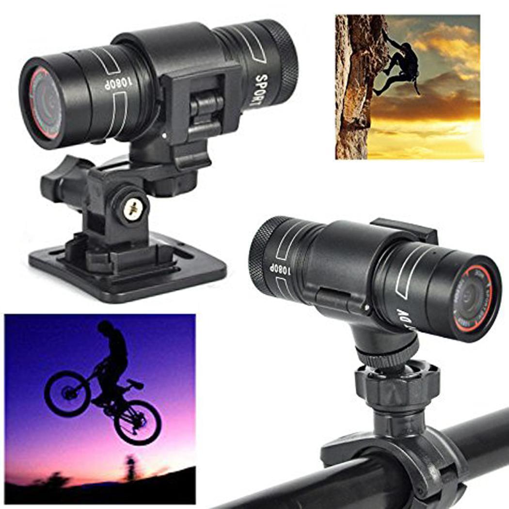Full HD 1080 P Mini sport DV caméra 120 grand Angle objectif vélo moto casque Action DVR vidéo Cam parfait pour les Sports de plein air