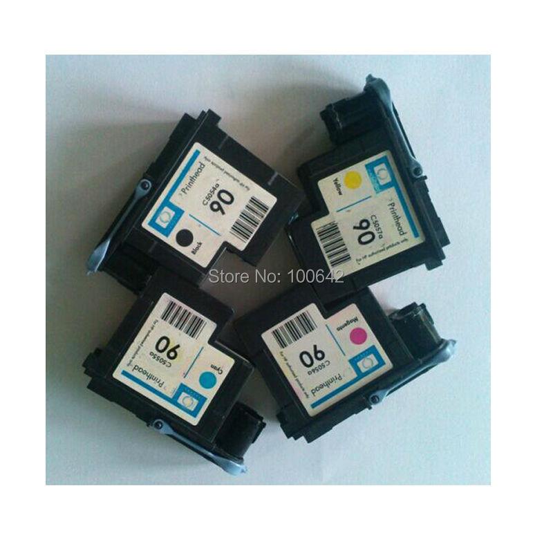 1set 90 printhead for HP designjet 4000 / designjet 4500 Remanufactured C5054A C5055A C5056A C5057A printer head for HP90