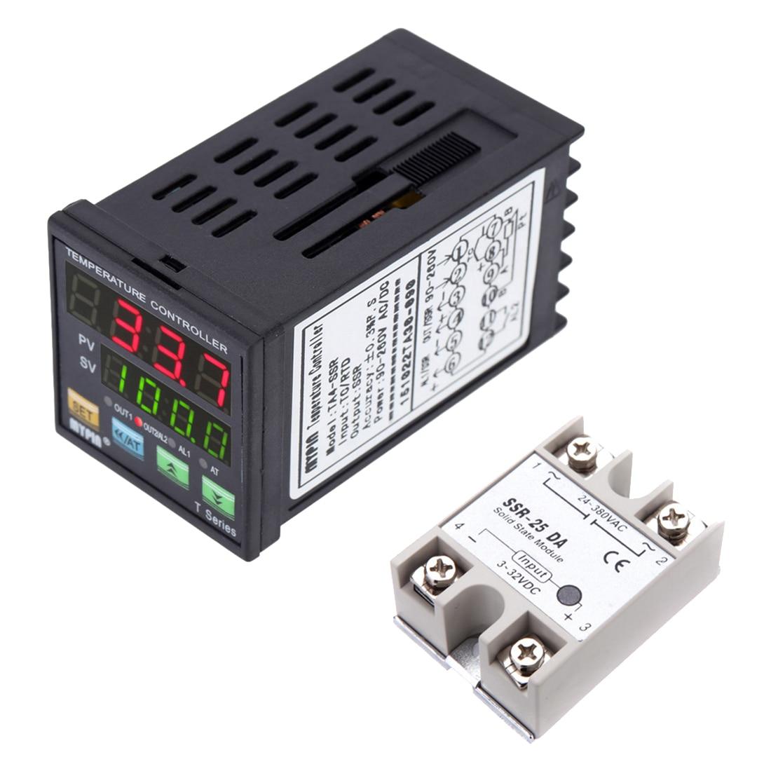 Mypin® Ta4-Snr+K Thermocouple Snr Pid Dual Digital Display Temperature Controll