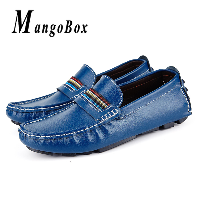 Mans Casual Loafers Spring Autumn Men Driving White Brown Mens Slip On Shoes Lightweight Flat For Male