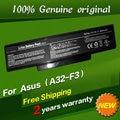 JIGU Free shipping 90-NI11B1000 90-NIA1B1000 A32-F3 Original laptop Battery For Asus A9 F2 F2F F2Hf F2J F2Je F3 F3E-AP073C