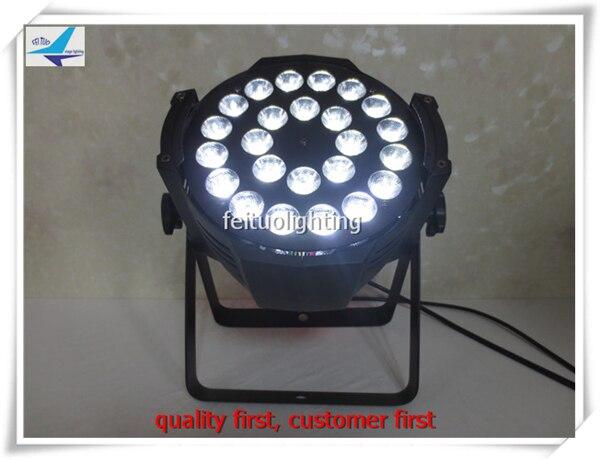 Y 8pieces led par 24x15w 5in1 dmx 9ch led par 64 light rgbw amber led par