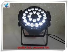 Y-8pieces led par 24×15 w 5in1 dmx 9ch ámbar luz led par 64 rgbw led par puede