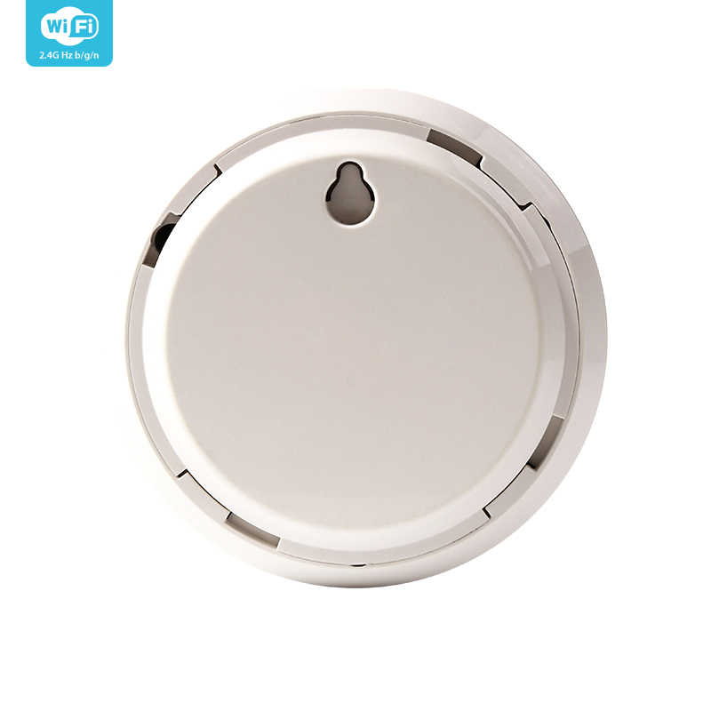 NEO Coolcam المنزل الذكي صفارة الإنذار جهاز استشعار إنذار الربط مع مستشعر درجة الحرارة والرطوبة تويا الحياة الذكية اليكسا IFTTT