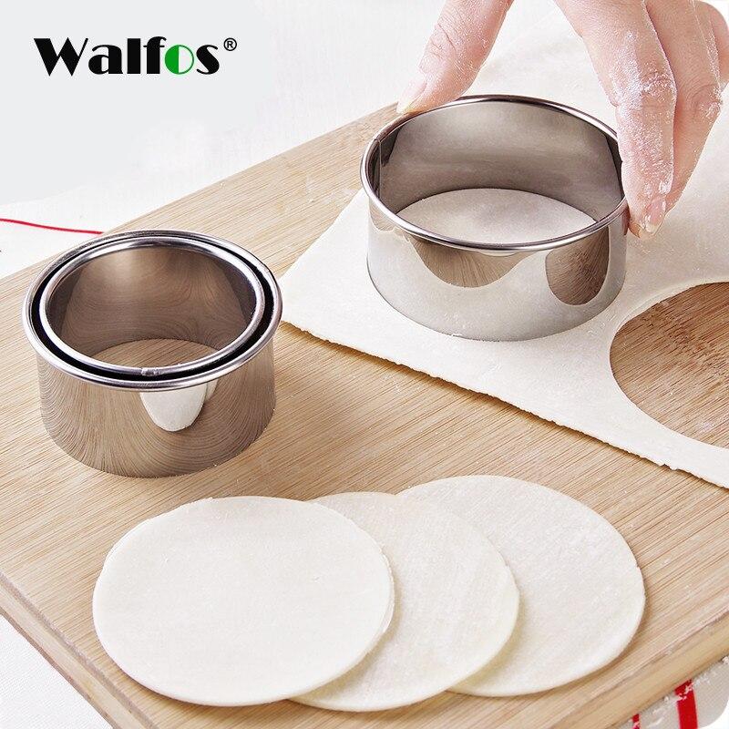 WALFOS 304 Edelstahl Cutter Knödel Mould Küche Maker Knödel Haut Gerät teig drücken Pfannkuchen Werkzeuge|Teigschneider|   - AliExpress
