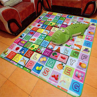 Portable Child puzzle carpet Bedroom Home rug Thick baby Crawling Mat Kids environmentally friendly and tasteless safety carpets