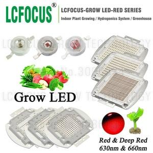 Светодиодный светильник высокой мощности для выращивания растений, 1 Вт, 3 Вт, 5 Вт, 10 Вт, 20 Вт, 30 Вт, 50 Вт, 100 Вт, 200 Вт, 300 Вт, 500 Вт