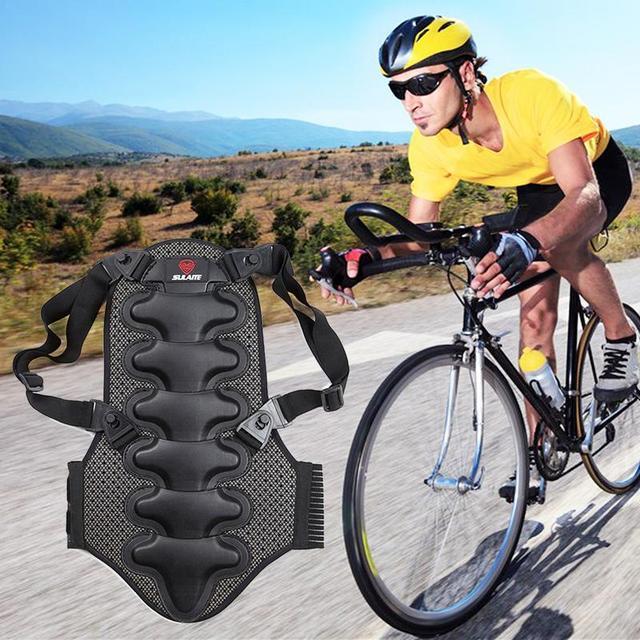 دراجة نارية عالية الجودة لحماية الظهر دراجة نارية دراجة تسلق الصخور تزلج الدراجات الخلفي حامي الجسم العمود الفقري