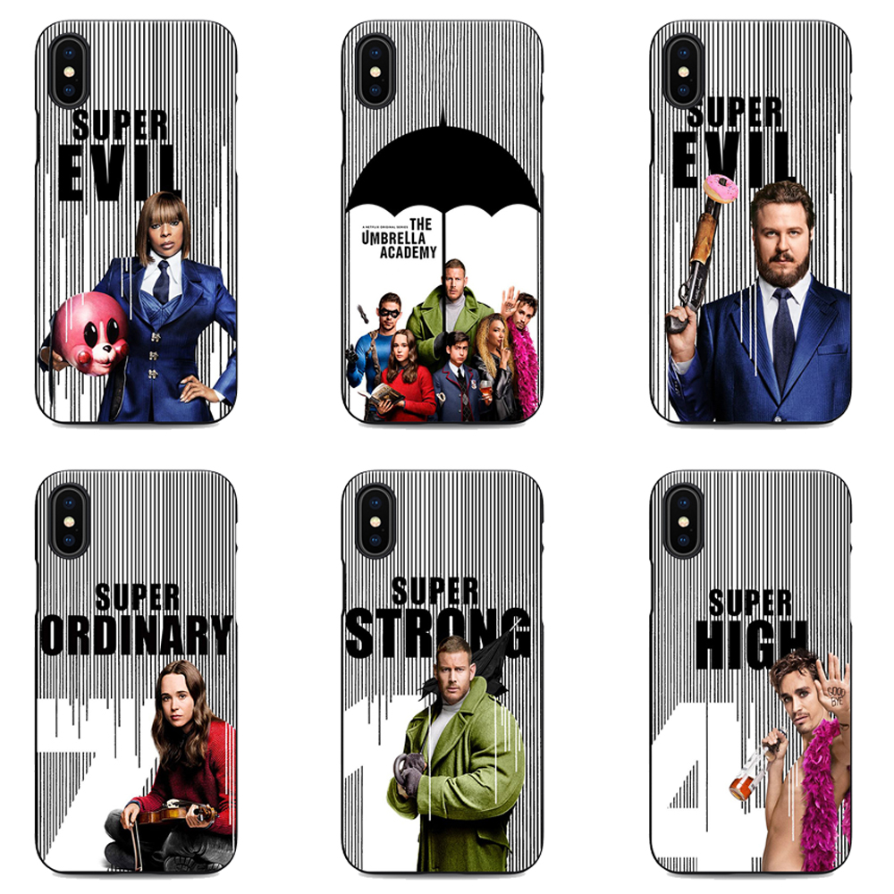 Cellphones & Telecommunications New Tv The Umbrella Academy Logo Fashion Soft Silicone Tpu Phone Cover Case For Iphone Max Xr Xs X10 5s 5se 6 6s 7 8 6 7 8plus