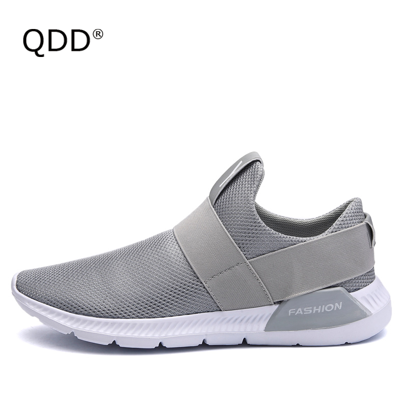 Comfort Does Not Lie! Breathable Mesh Fabric Men Running Shoes, Fit In Well Anywhere! Fly Knitting Lightweight Men Running Shoes