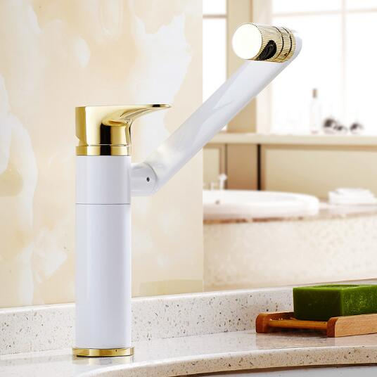 High Quality New Arrivals kitchen faucet chrome brass hot and cold water tap sink mixer tap wash basin faucet basin mixer high quality single handle brass hot and cold basin sink kitchen faucet mixer tap with two hose kitchen taps torneira cozinha