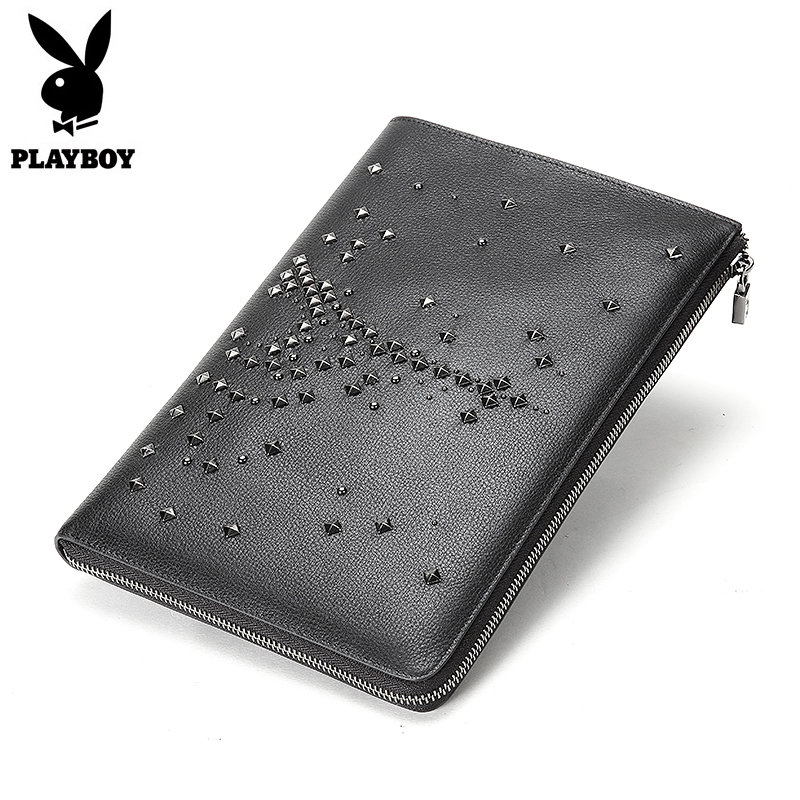 High Quality Business Hand Bag Diamonds Men Clutch Bags Long Genuine Leather Wallet Luxury Brand Male Wallets with Wristlet серебряный подвес ювелирное изделие 68638