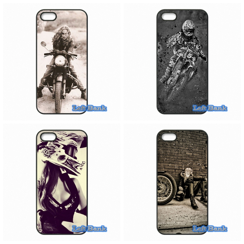 For Samsung Galaxy 2015 2016 J1 J2 J3 J5 J7 A3 A5 A7 A8 A9 Pro motocross girl riders Case Cover